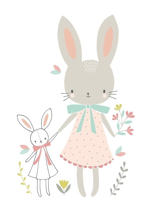 Flora Waycott 39 Kaart Bunny Friends 39 Ideas And Projects
