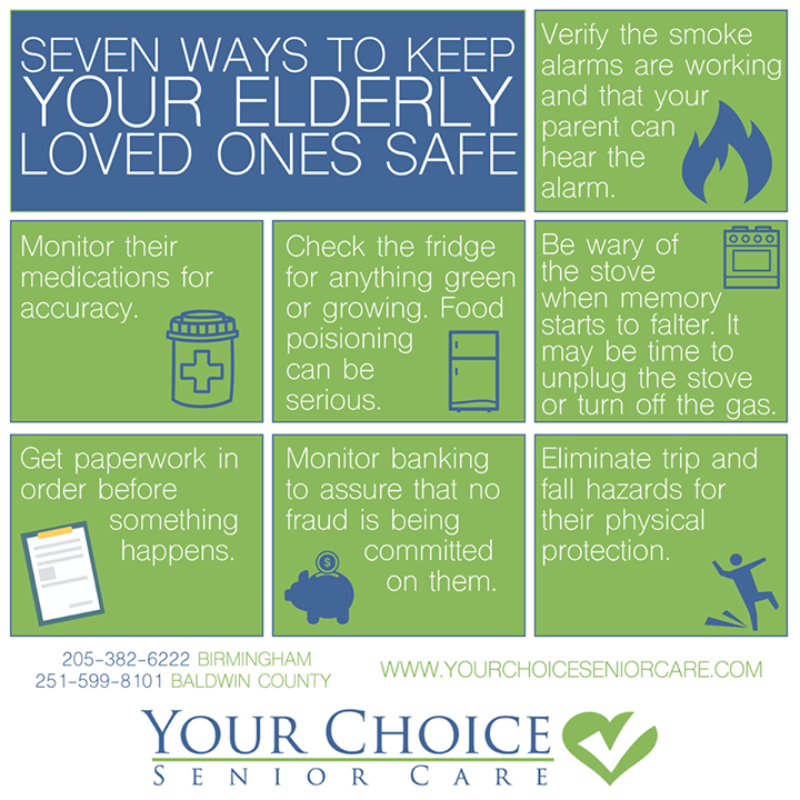Here Are 7 Tips For Keeping Your Elderly Loved Ones Safe From Your