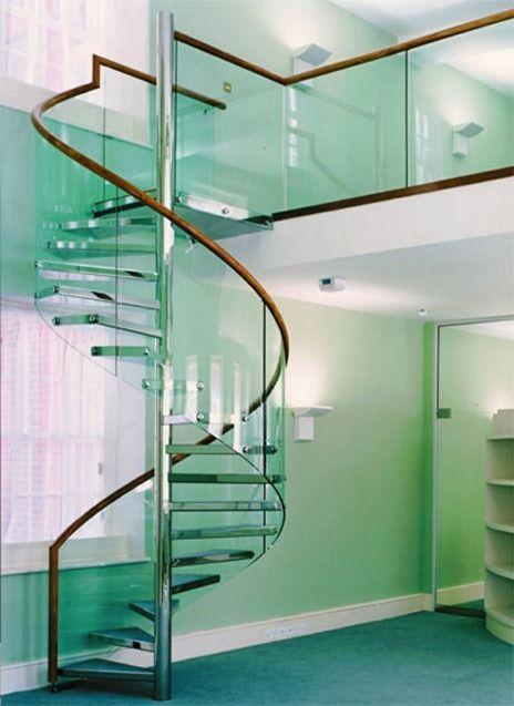 escaleras de caracol modernas a veces cuesta creer que sea una escalera