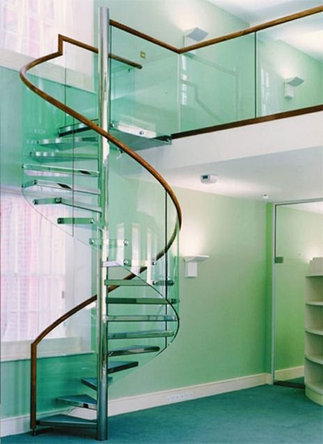 escaleras de caracol modernas imaginativos a veces cuesta creer - escaleras modernas