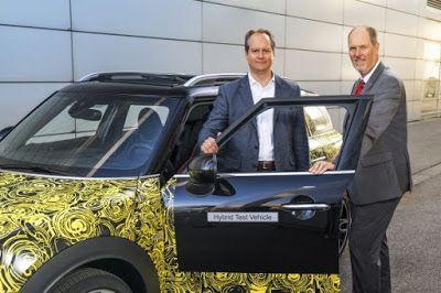Zum Zum Auto - Electric Cars. Blog, Blog, Blog...: The MINI goes electric