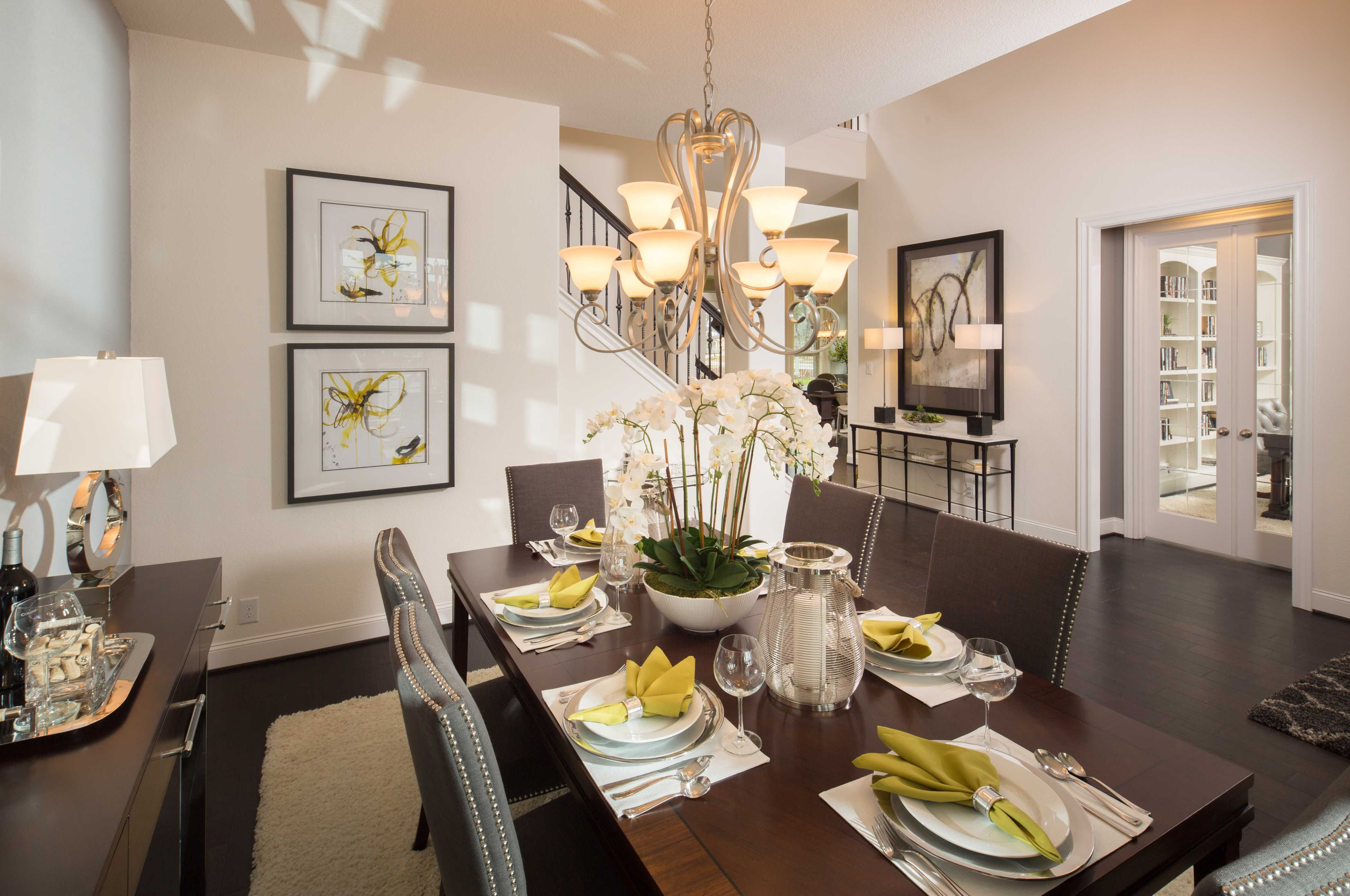 Highland Homes Plan 265X Model Home in