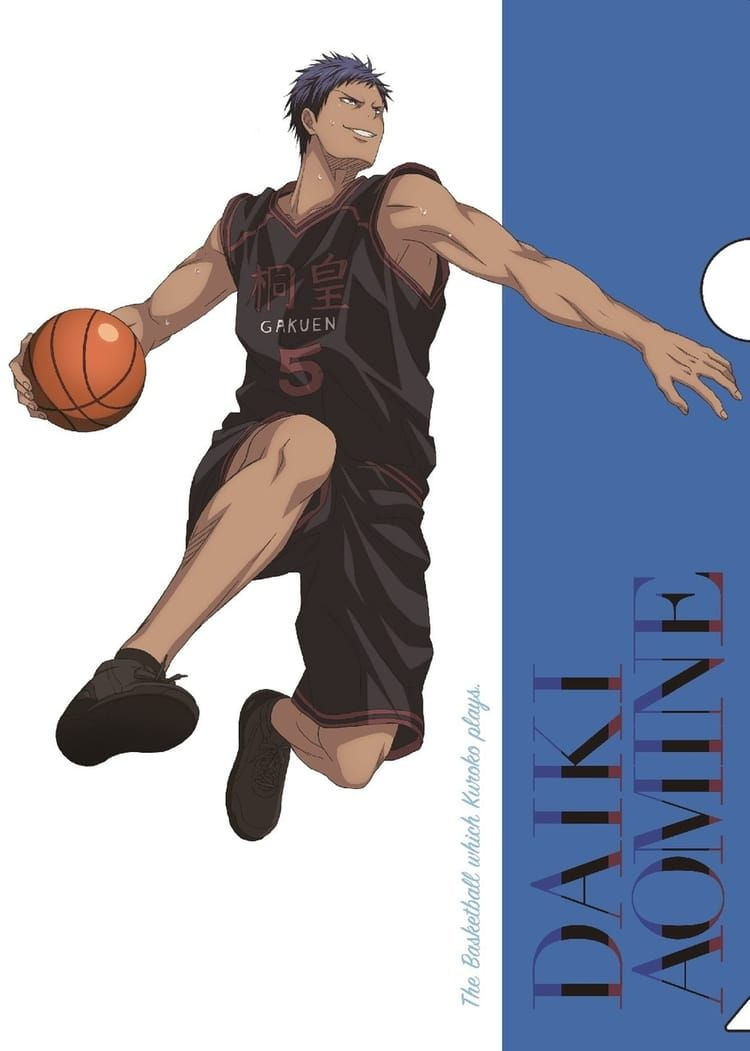 Kuroko No Basket Aomine : kuroko, basket, aomine, Aomine, Daiki, Kuroko,, Kuroko, Basket,, Kuroko's, Basketball