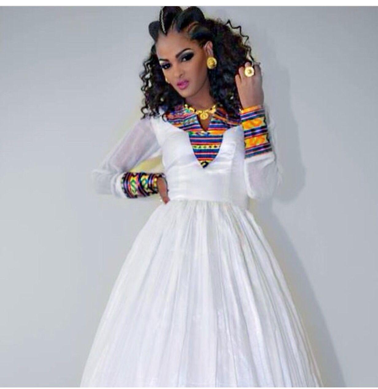 Beautiful habesha, Ethiopian fashion is something i really ...  |Ethiopian Fashion Clothes