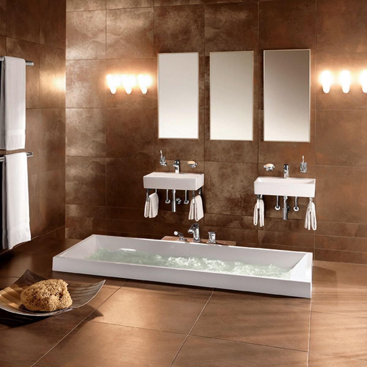 villeroy boch fire ice tile 2409 15 - Bathroom Designs Villeroy And Boch