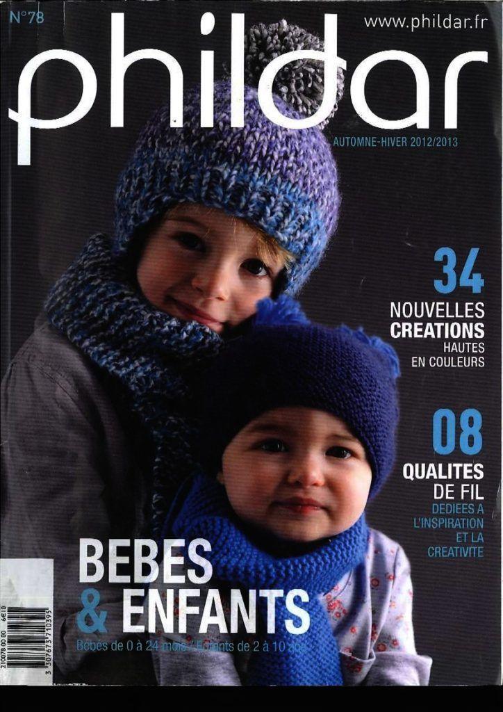 Aux Doigts De F U00e9e Catalogue N U00b0 78 Phildar Enfants Hiver Ann U00e9e 2012 Pdf