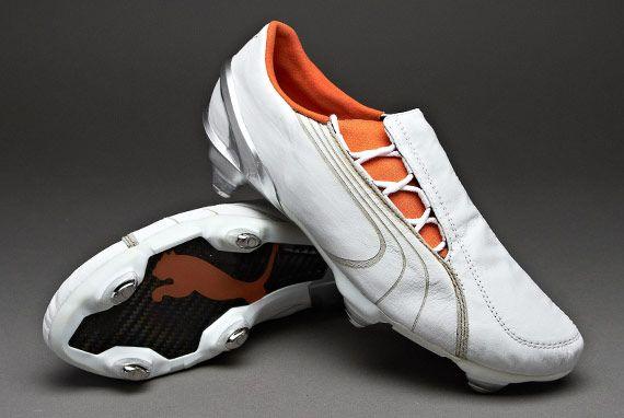 036186a25 Puma Football Boots K-Soft Ground Freestyle. Puma V1.06 K-SG Freestyle -  White Orange