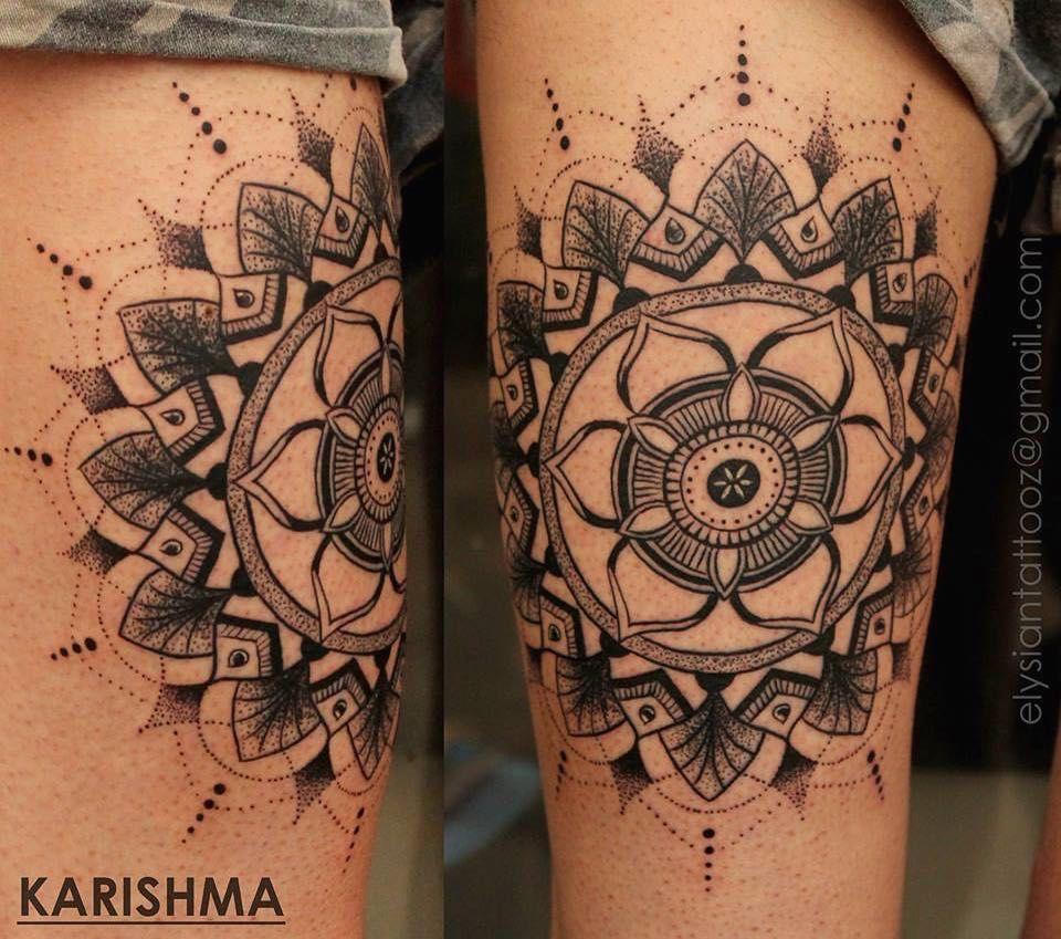 The mandala represents wholeness. A circle also denotes