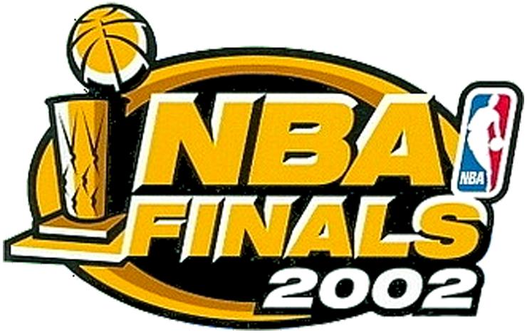 Nba Finals Primary Logo 2001 02 2002 Nba Finals Logo Los Angeles Lakers Vs New Jersey Nets Nba Finals Nba 2001 Nba Finals