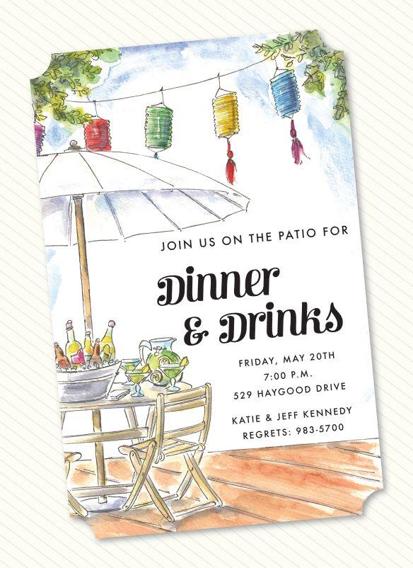 Deck Party Invitation Invite