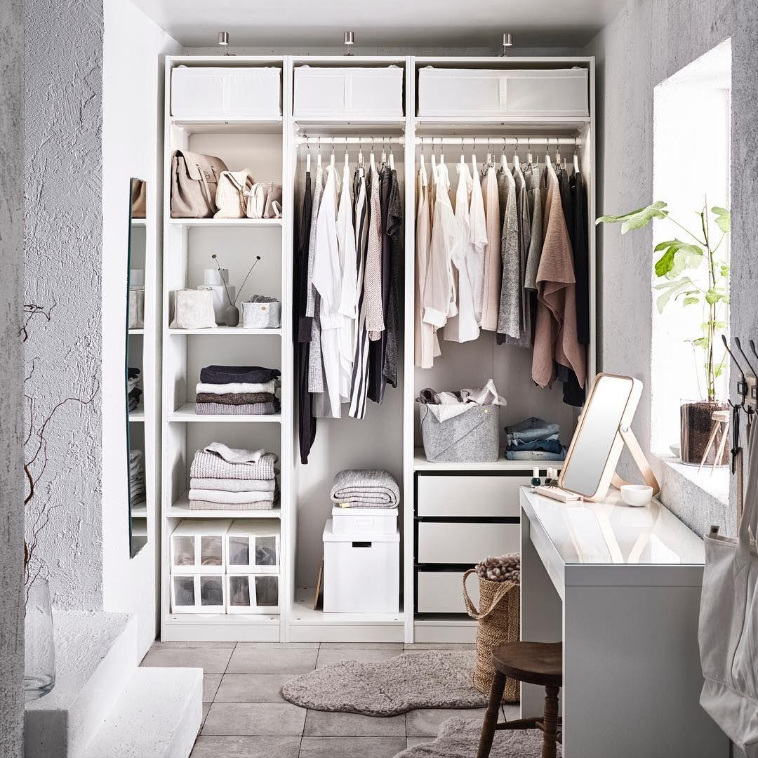 Pax Malm Garderobekast.Ikea Nederland Ikeanederland Pax Malm Interior Closet