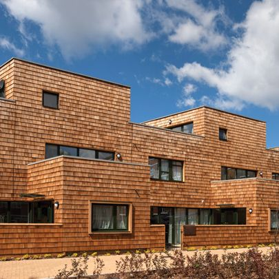 Best Shingle Cladding Solution For Social Housing Development 400 x 300
