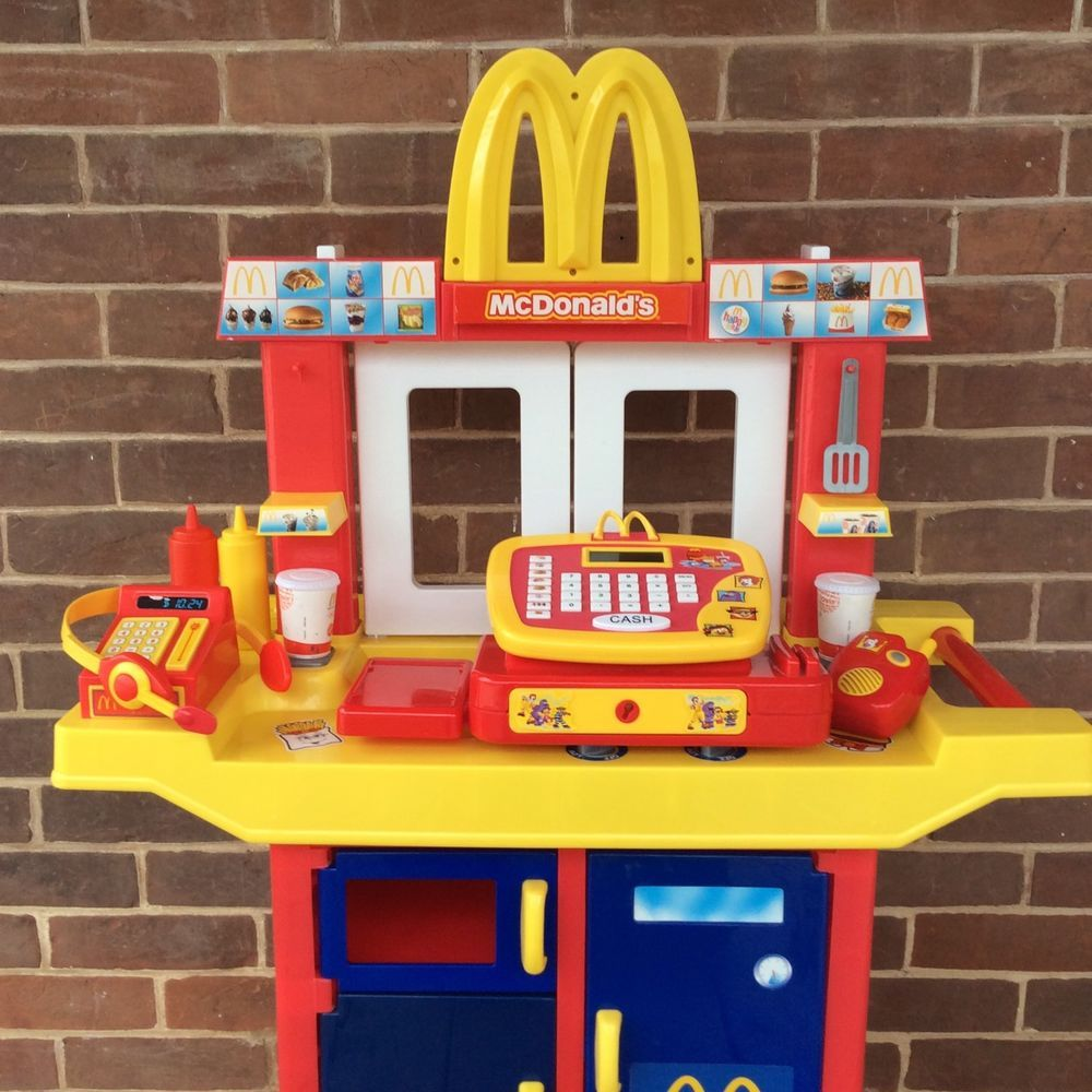 Details about Vintage McDonald\'s Drive Thru Playset w/ Cash ...