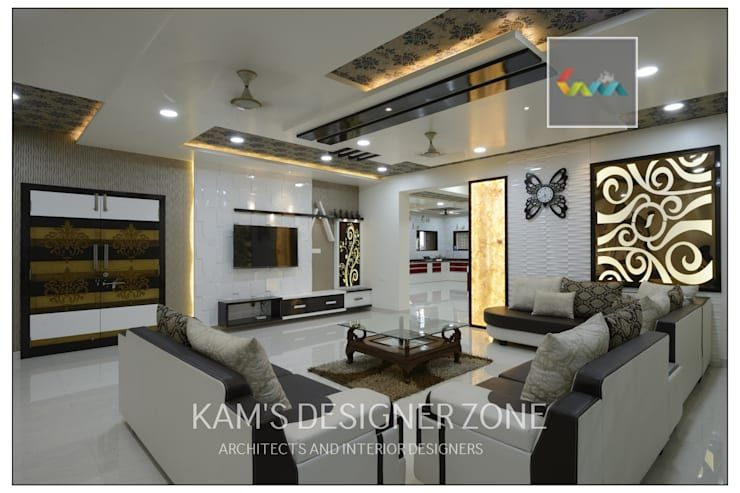 Wonderful Living Room Design: Classic Living Room By KAMu0027S DESIGNER ZONE