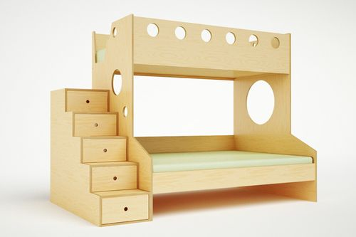 Best Our Marino Twin Over Full Modern Bunk Bed Is Ideal For 640 x 480