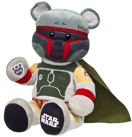 Star Wars Boba Fett Bear: Star Wars fan? This one's for you! Star Wars Boba Fett Bear is $35 right now at Build-A-Bear… #coupons #discounts