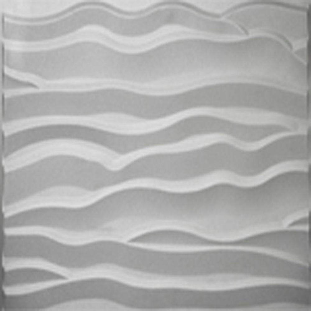 Threedwall 32 4 In X 21 6 In X 1 In Off White Plant Fiber Glue On Wainscot Wall Panel 6 Pack Ekb 02 115 The Home Depot White Plants Plant Fibres Wall Paneling