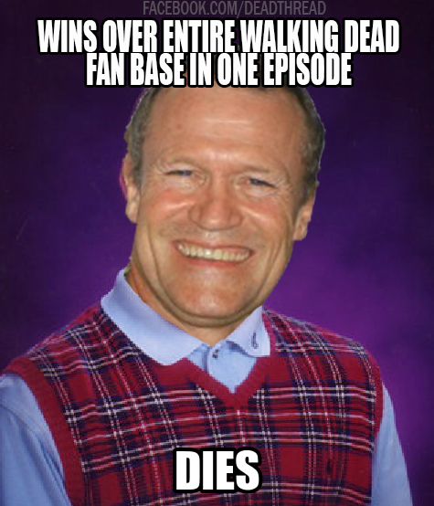 Aww bad luck Merle.