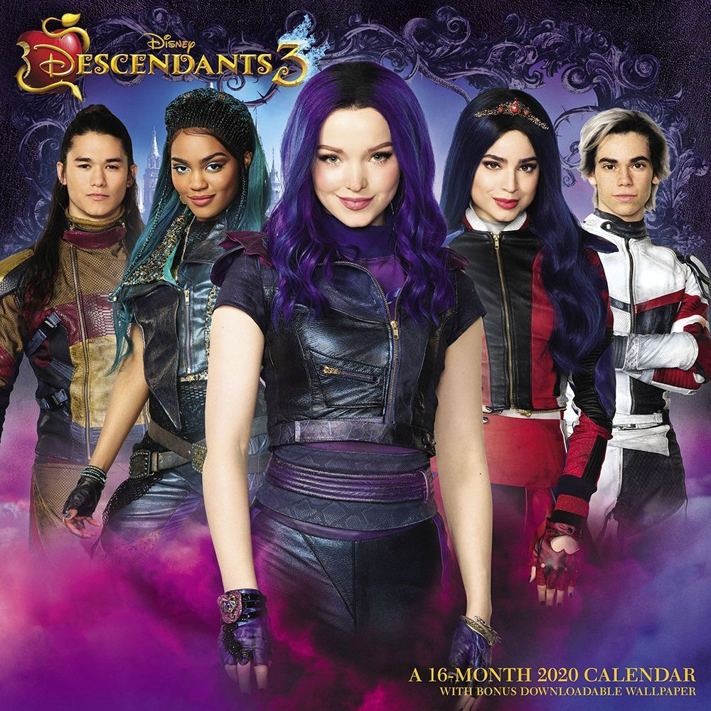 Descendants 3 Wall Calendar Disney Descendants Dolls Disney Descendants Descendants