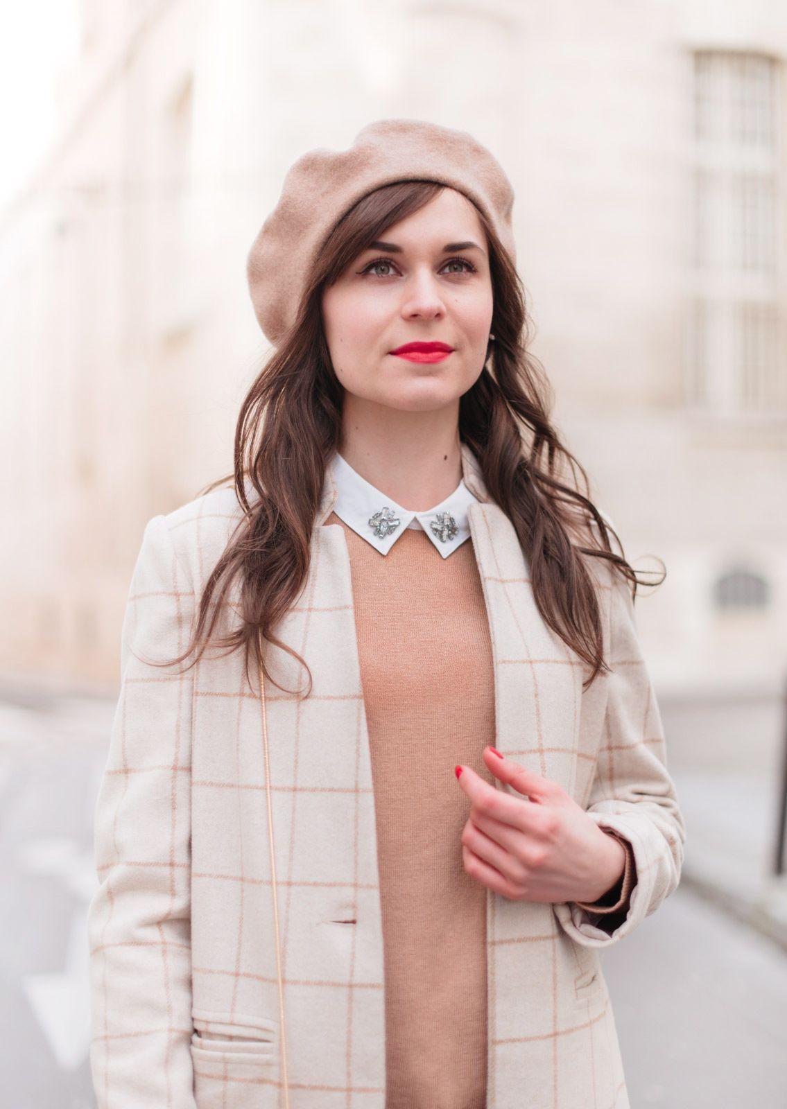 Porter le béret Tenue beret, Mode et Béret français