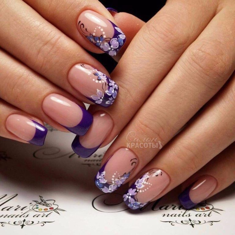 100 Gel Polish Nails Photos 2018 Part Ii французский Nail Art