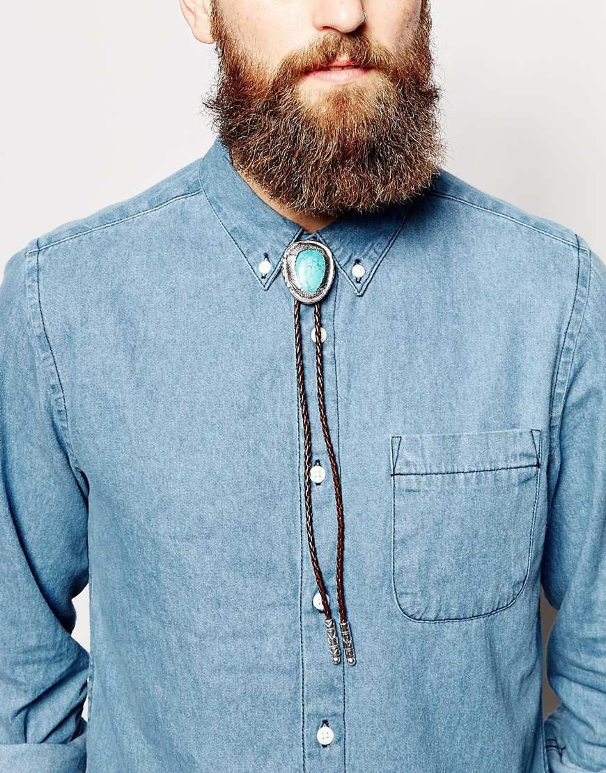 Image 3 of ASOS Bolo Tie Necklace   Accessories   Pinterest