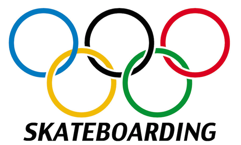 Skateboarding got voted in as an Olympic sport today