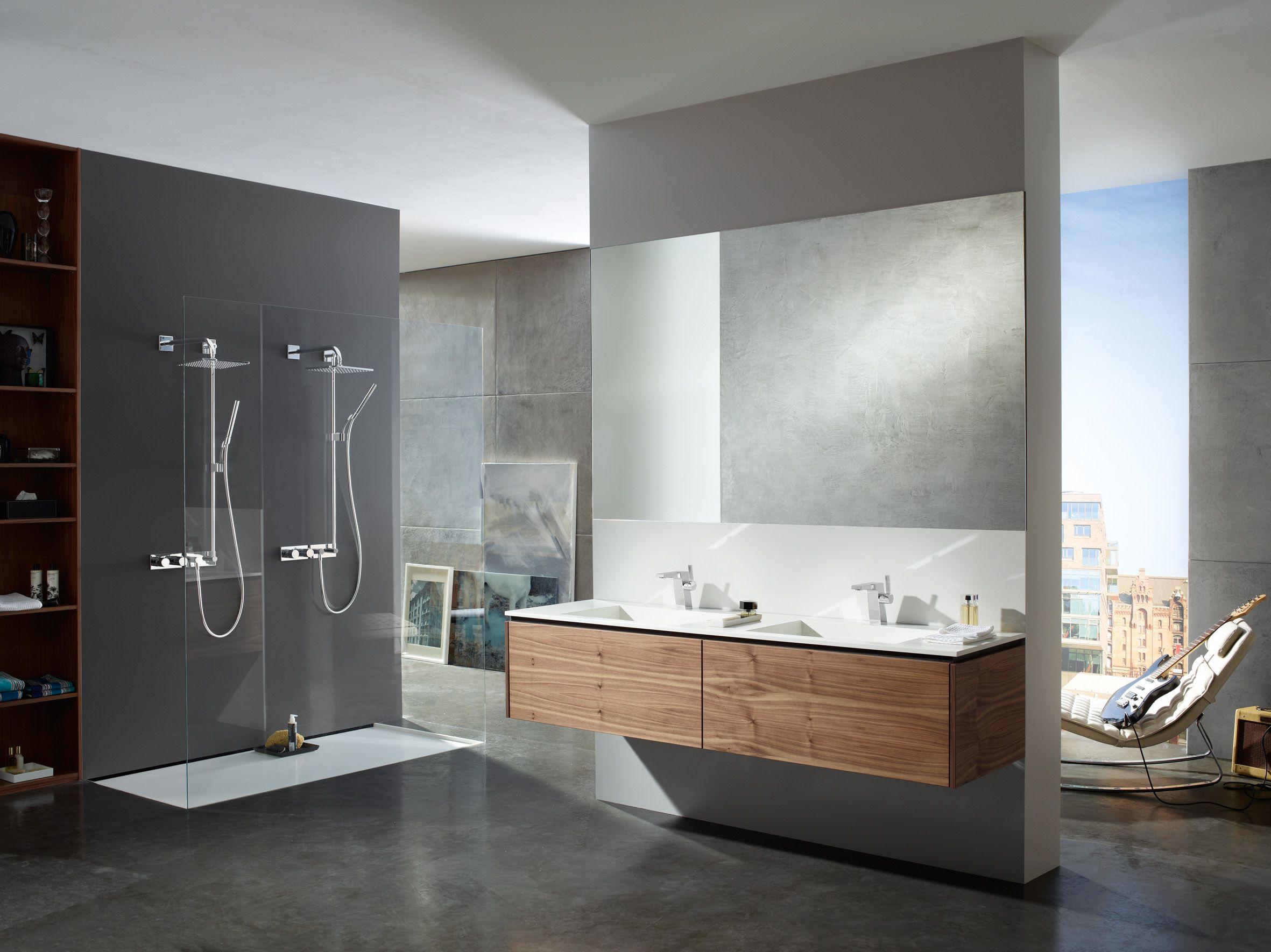 Die Perfekte Walk In Dusche Auch Für Zwei Personen! Mehr Inspiration Zu  Ebenerdigen