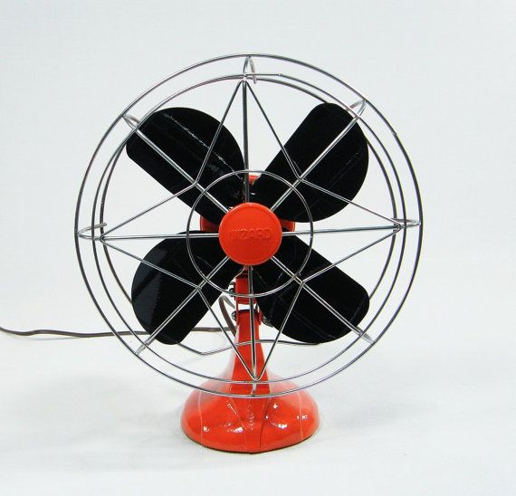RESERVED Vintage Electric Fan / oscillating / by ohiopicker, $168.00