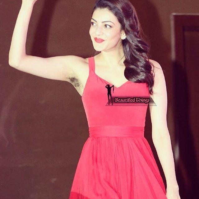 #kajal #kajalagarwal #armpits #underarms #hairyunderarms