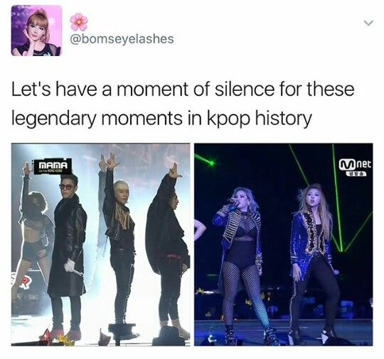 Ot5 And Ot4 Moment Of Silence Kpop Let It Be