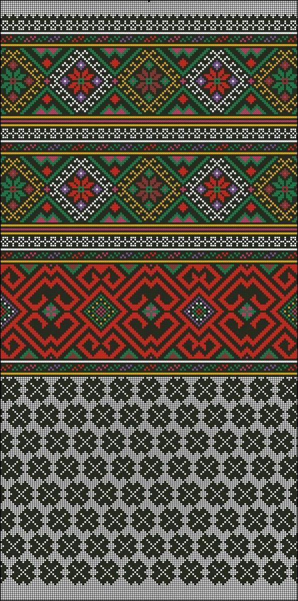 Pin von Lusa Usatova auf Cross-stitch ukrainian pattern | Pinterest ...