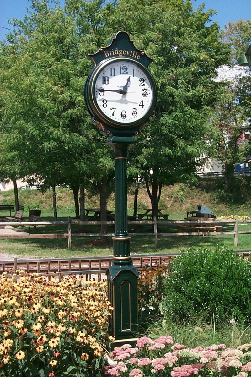 Outside Clock Made By The Verdin Company In Cincinnati