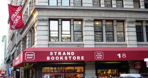 Indie Bookstore Spotlight The Strand New York City Indie Bookstore Bookstore Strand Bookstore