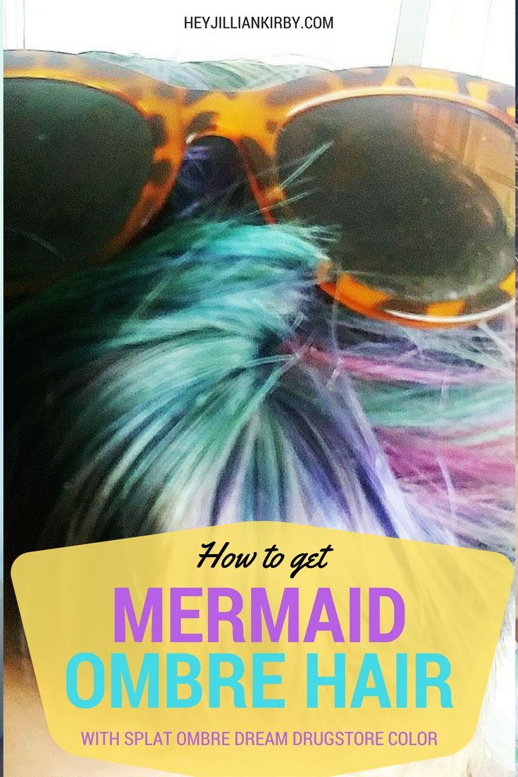 Video tutorial of how to use splat ombre dream hair color kit to get