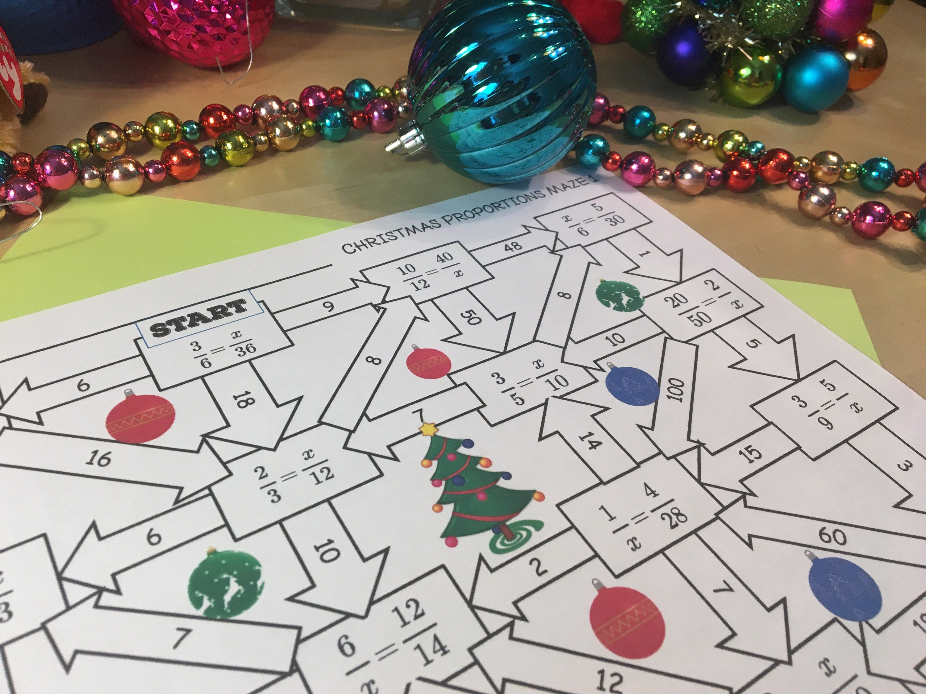 12 Days Of Christmas Math Activities For Middle School Teaching Ideas Christmas Math Math Activities Math Practices [ 2250 x 3000 Pixel ]