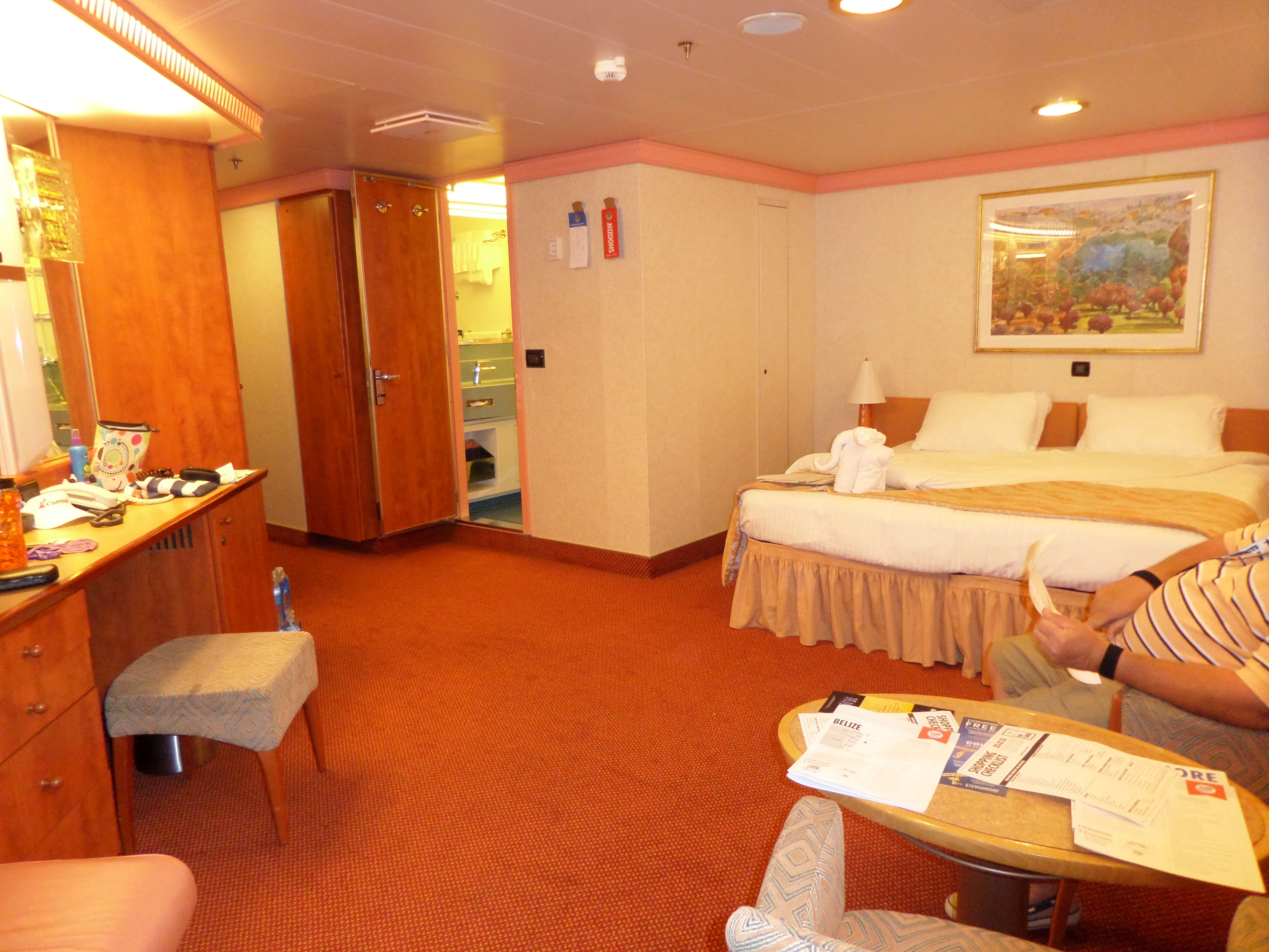 Our Stateroom On The Carnival Valor #2473