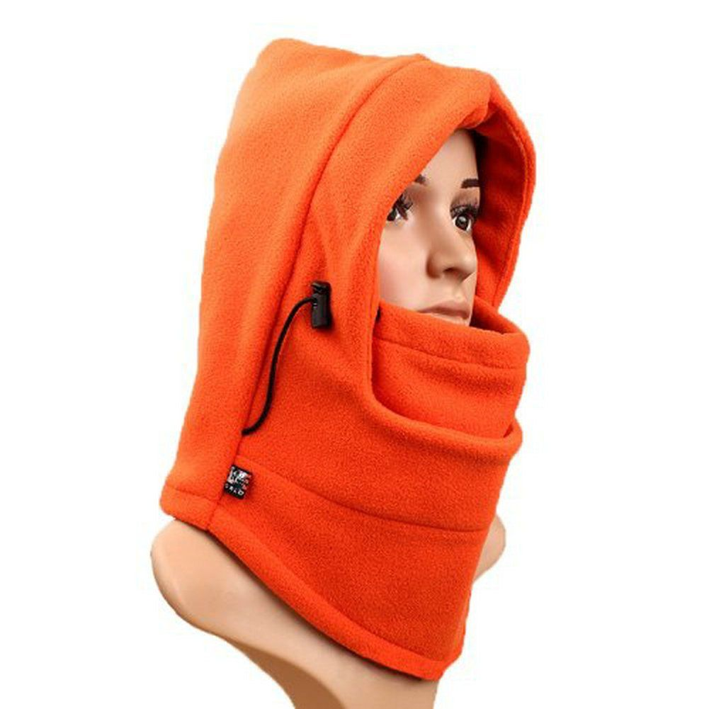 6in-1 Thermal Fleece Ski Face Mask Balaclava Hood Neck Warmer Snow Wind Stopper