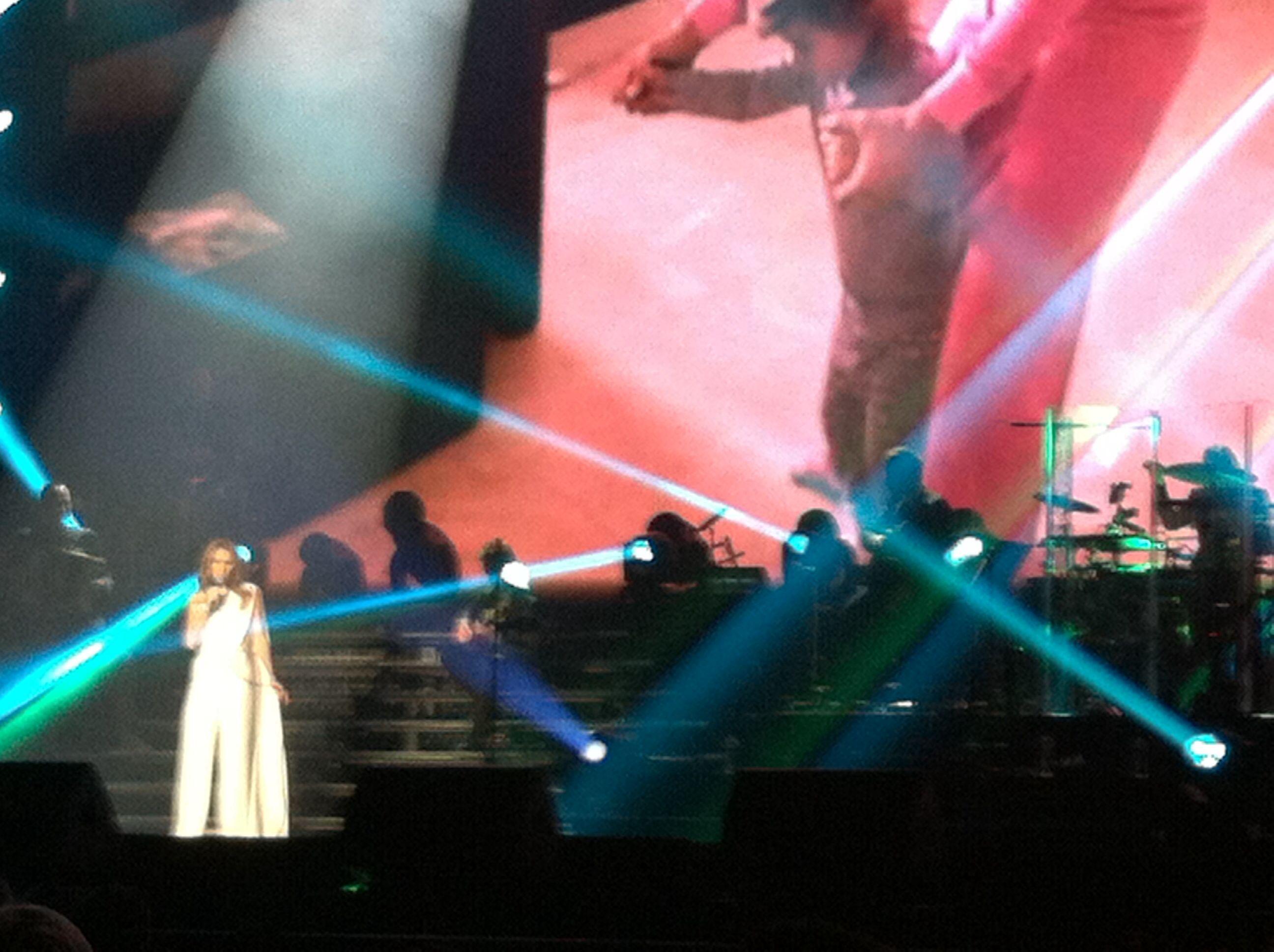 Celine Dion Concierto Amberes 22/11/2013