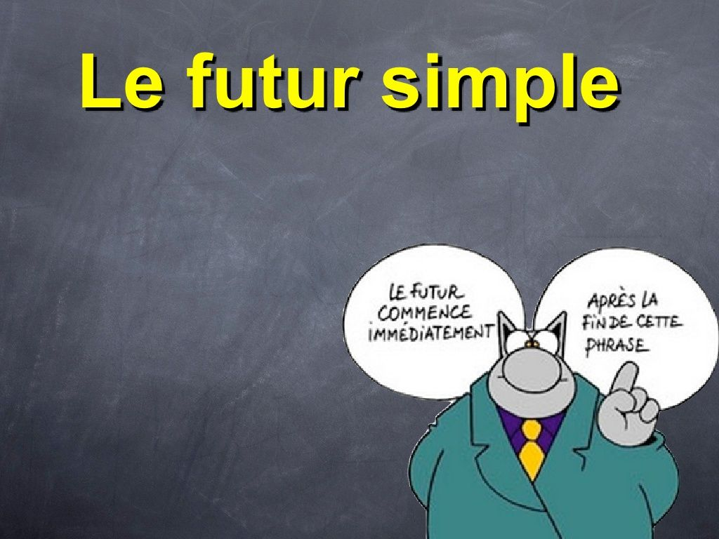 Le Futur Simple By Iesdragobil Via Slideshare Con