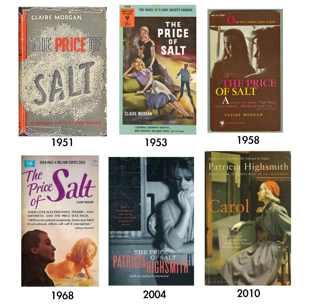 Book Cover Artist Prices : The price of salt covers cate blanchett books queer
