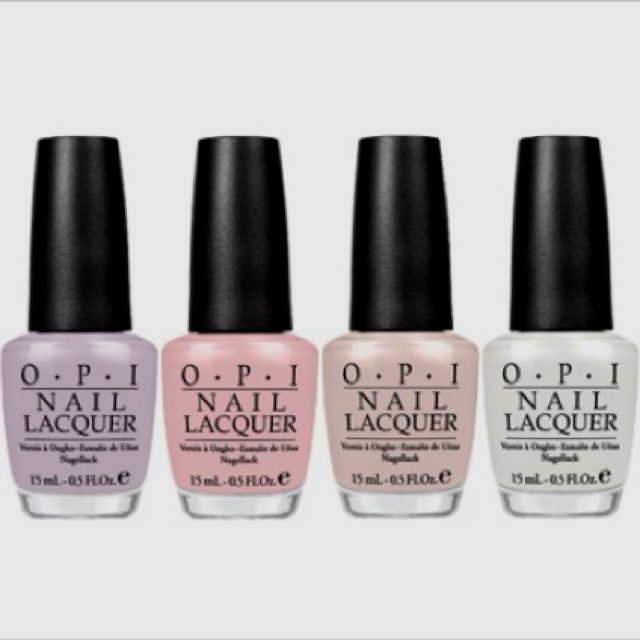 Opi's NYC Ballet Collection. Must have a few of these ...