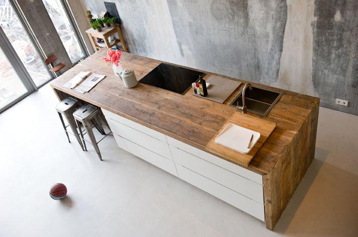 Top Design Keukens : Sfeervolle keukens van sloophout nieuws de beste keuken ideeën