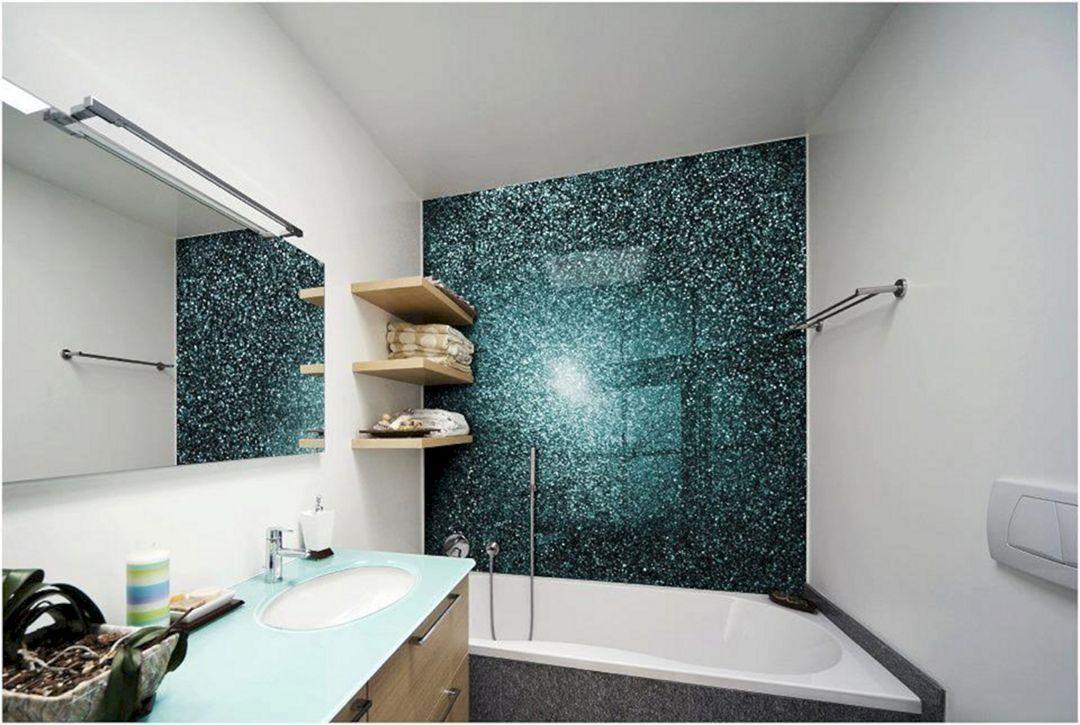 20 Awesome Bathroom Splashback Decoration For Comf