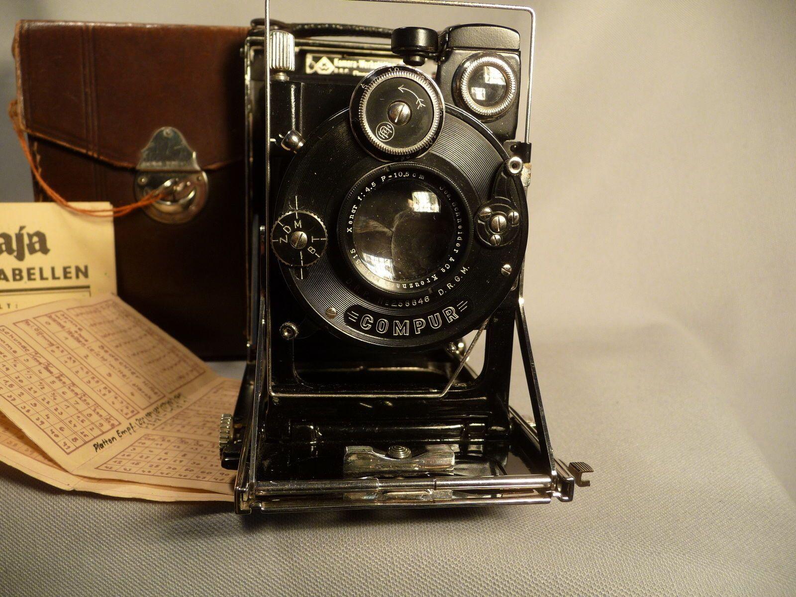 Sehr schöne Patent Etui 6,5x9 Kamerawerke DD