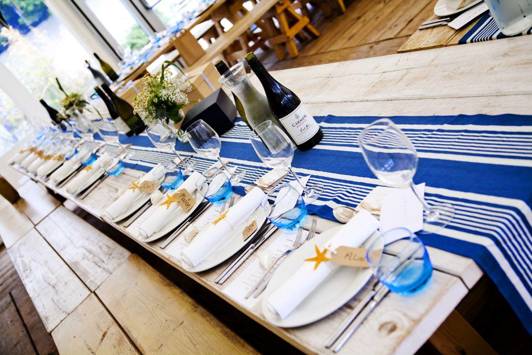 Marquee Wedding Reception. The Gallivant Hotel, Camber