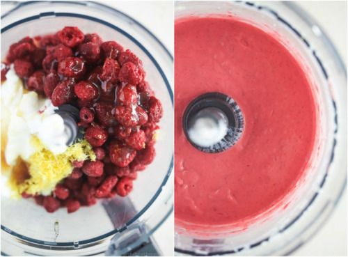 Healthy Lemon Raspberry Frozen YogurtReally nice recipes. Every  Mein Blog: Alles rund um Genuss & Geschmack  Kochen Backen Braten Vorspeisen Mains & Desserts!