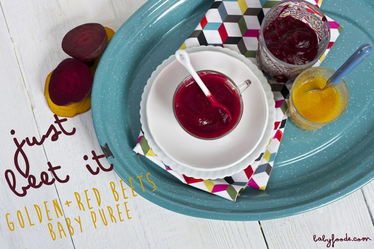 Golden Red Beet Puree Recipe Baby Puree Recipes Red