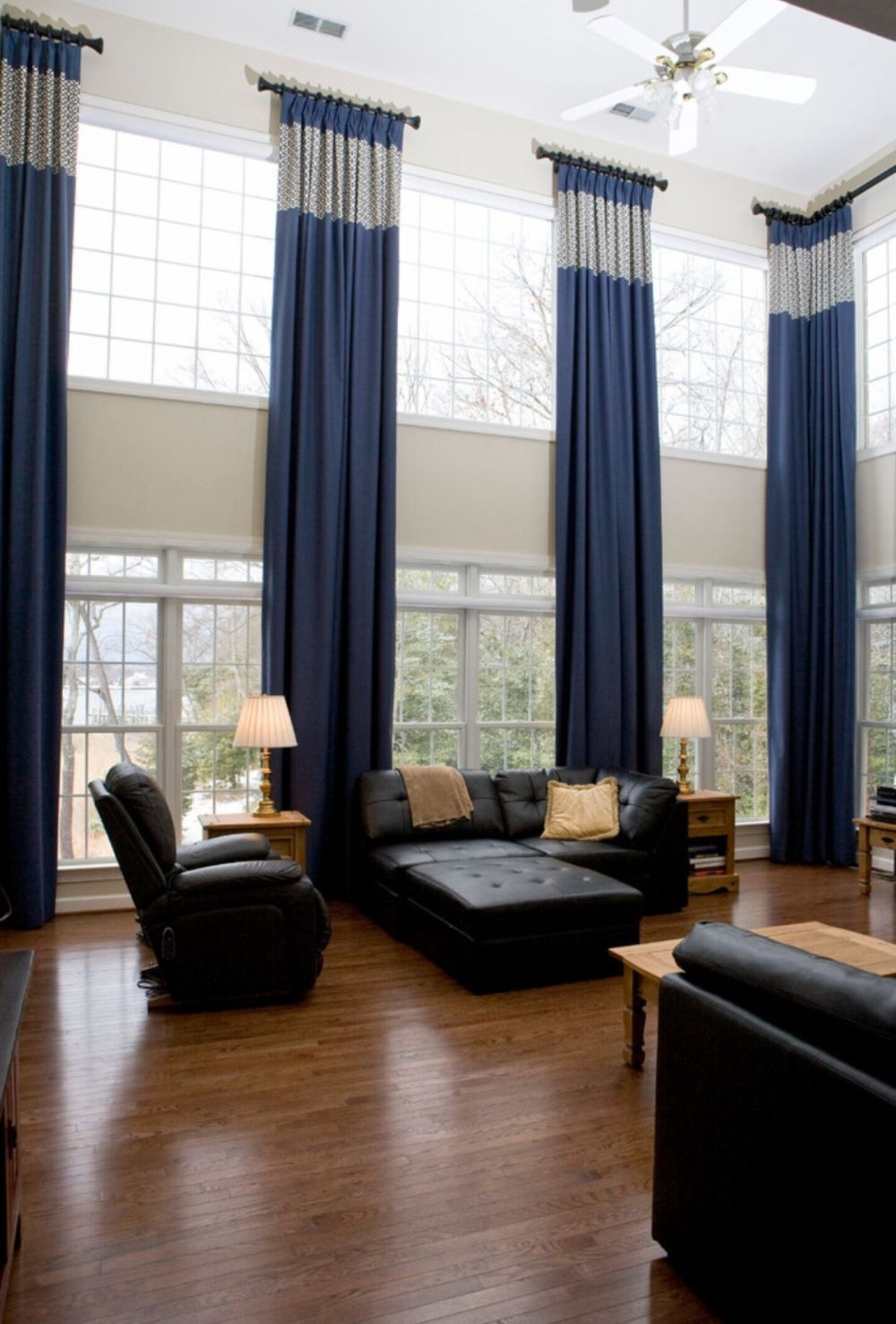 These Types Of Curtains Are More Than Just Window Dressing Window Treatments Living Room Living Room Windows Curtains Living Room