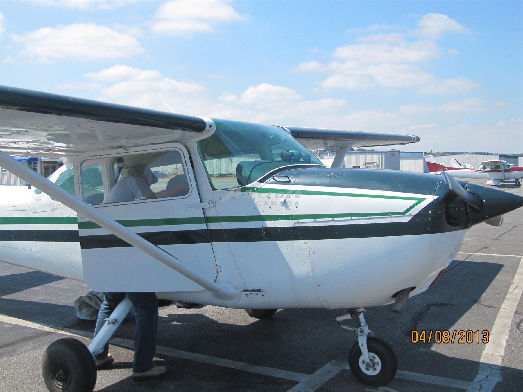 1974 Cessna 172M for sale in Vancouver, BC Canada => http